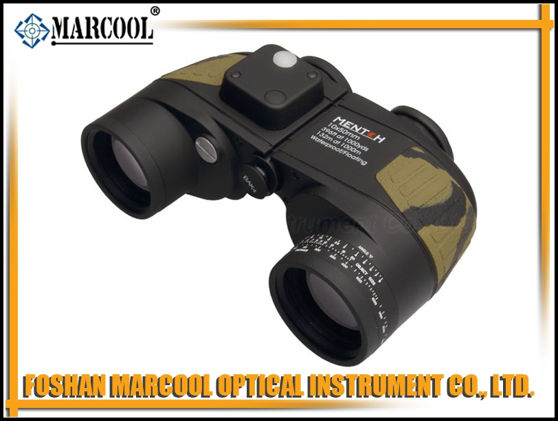 Camouflage Sailling Binocular 10x50 with Digital Compass