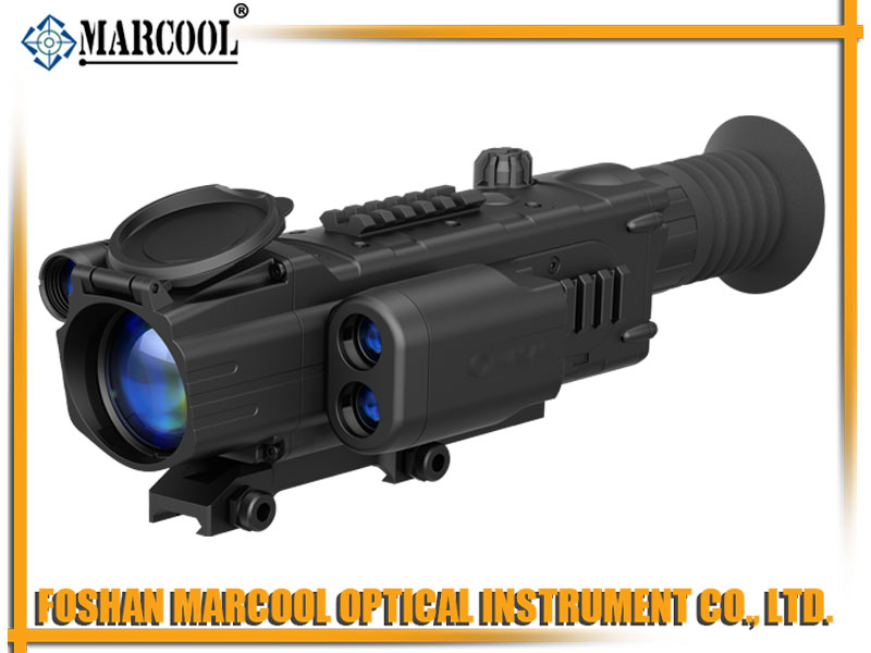 NV Digisight LRF N850 Riflescope with Built-In Rangefinder