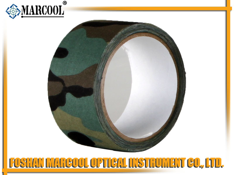 Forest Camouflage Cotton Cloth Duct Tape 5CMX1000CM