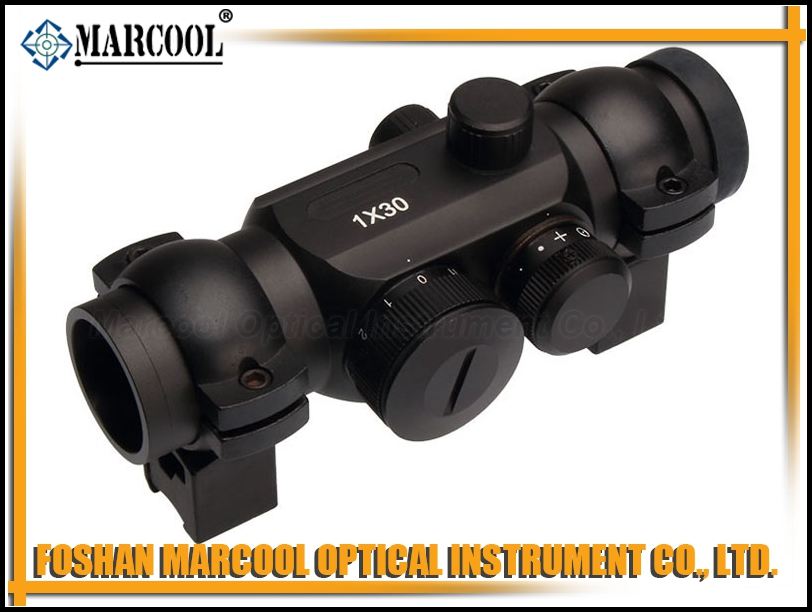RD 1X30 Red Dot with 4 reticle & mounts