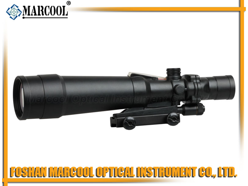 ACOG Type 5.5X50 Red illuminated TA01NSN Black