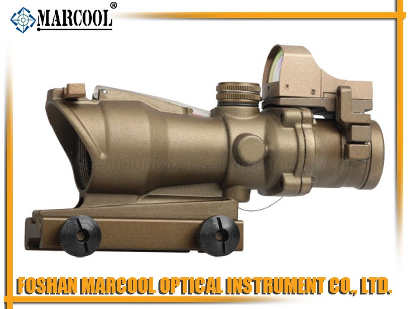 ACOG Type GL 4X32CR TA01NSN W/Mini Red Dot GOLD