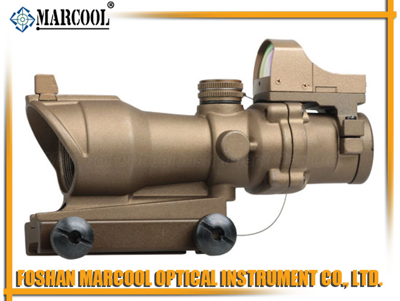ACOG Type GL 4X32BR TA01NSN W/ Mini Red Dot GOLD