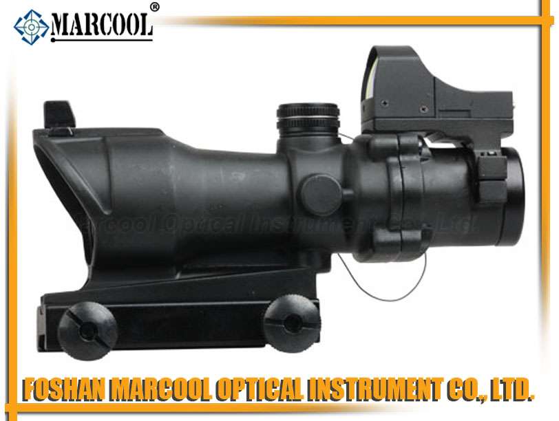 ACOG Type GL 4X32BR TA01NSN W/ Mini Red Dot Black