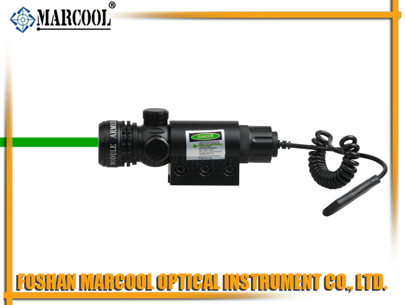 outside adjustable  Green Laser Sight Scope(M01)