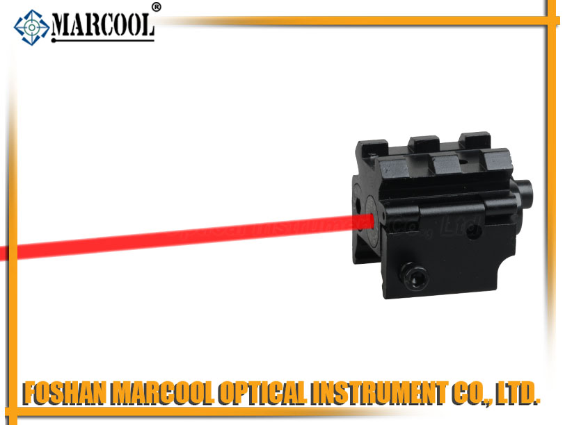 JG-11 Tactical Compact Pistol Weaver Rail Mini Red Laser Sight