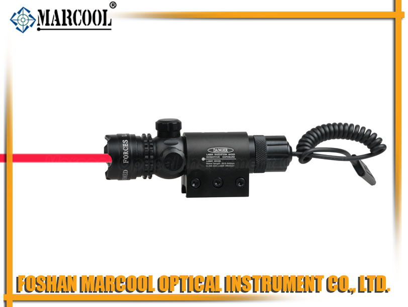outside adjustable RED Laser Sight Scope(JG-1)