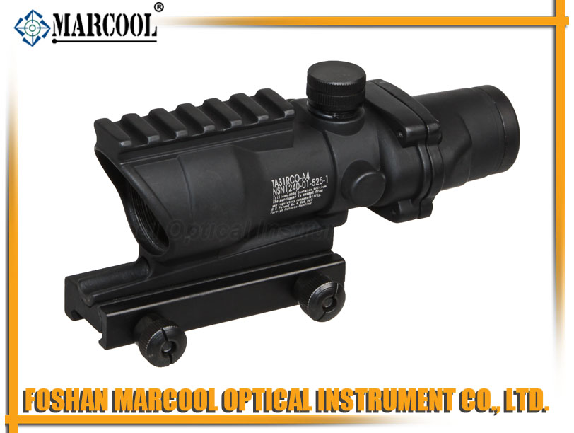 ACOG SCOPE GL 4X32 With Upper Rail in Black