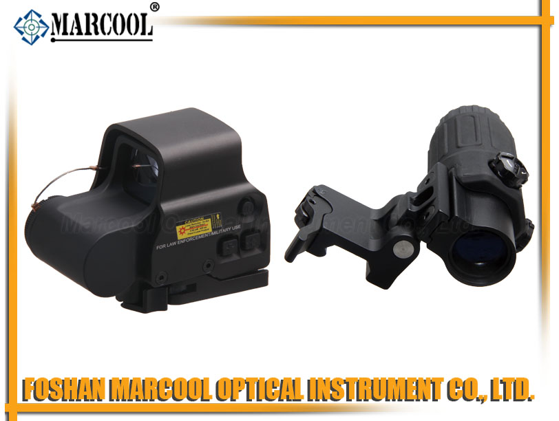 Holographic Hybrid Sight 558B with G33.STS Magnifier in Black