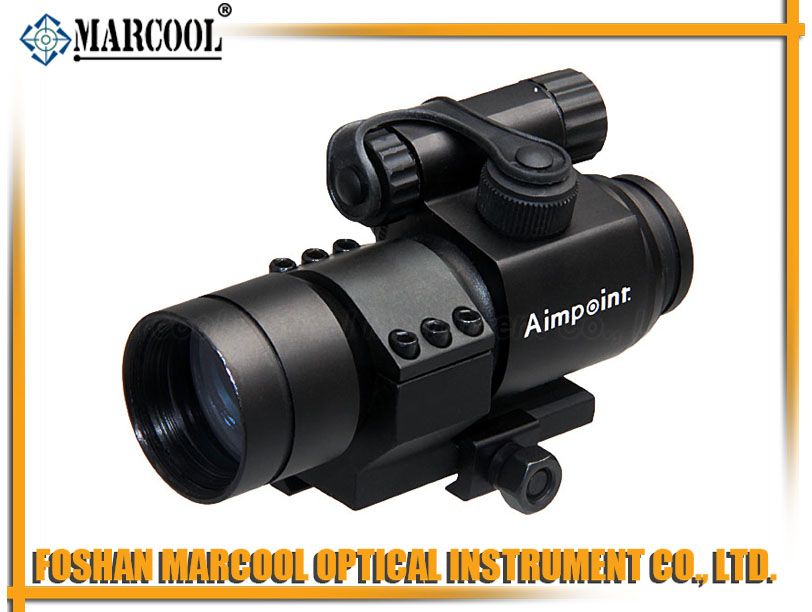 M2 1X32 Red Dot Sight in Cross Reticle with L Shape Ring Mount
