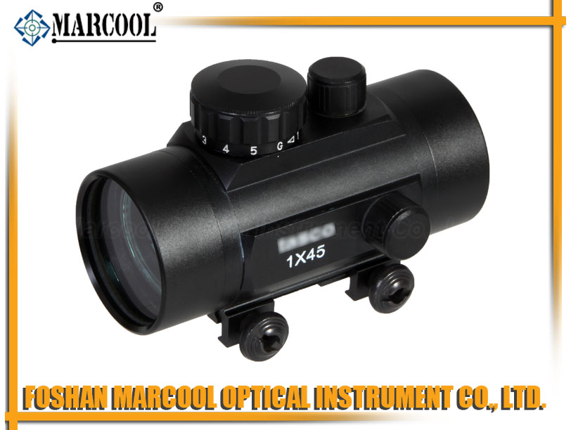 1X45 Red Dot Sight With Weaver Mount