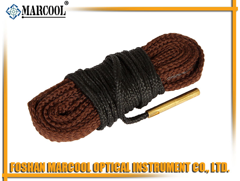 17CAL Gun Rope Brush in Brown Color