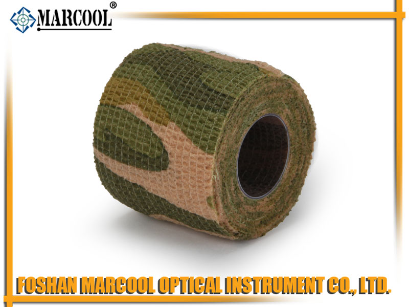 Light Green Camouflage Elasticity Nonwoven Tape 5CMX200CM