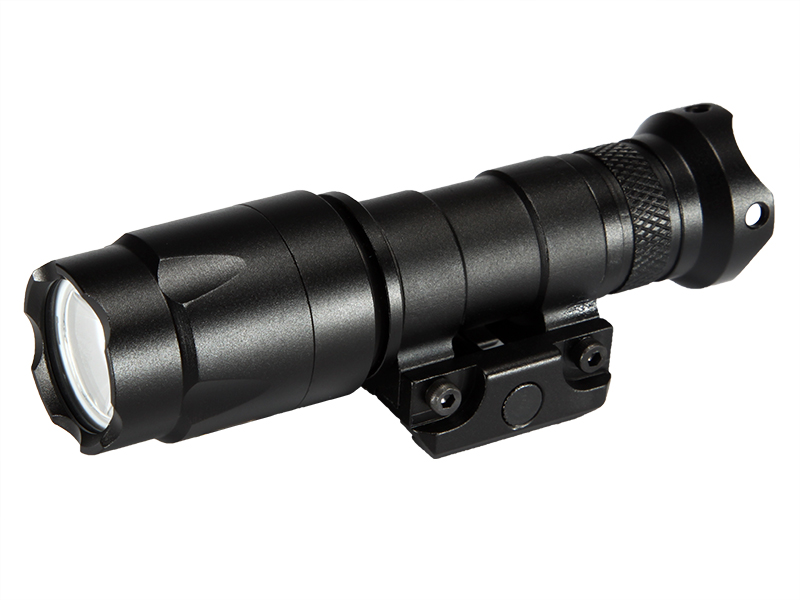 M300A LED Weapon Flashlight Weaver Rails-Mountable With Remote Pressure Switch In Black