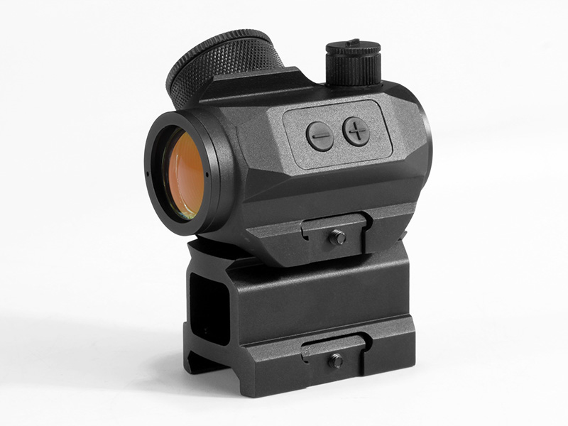Micro T-1 1x21 Red Dot with Tall Riser in black