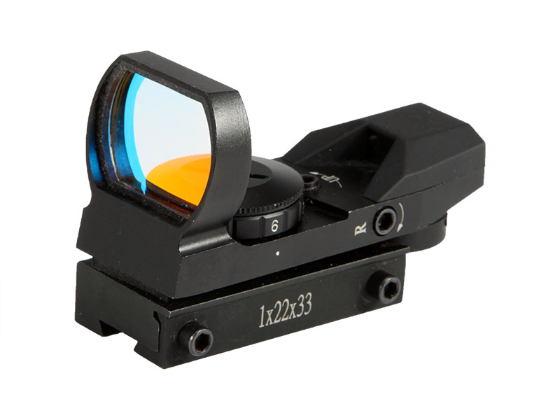 4 Reticle Red Dot Sand Color Scope