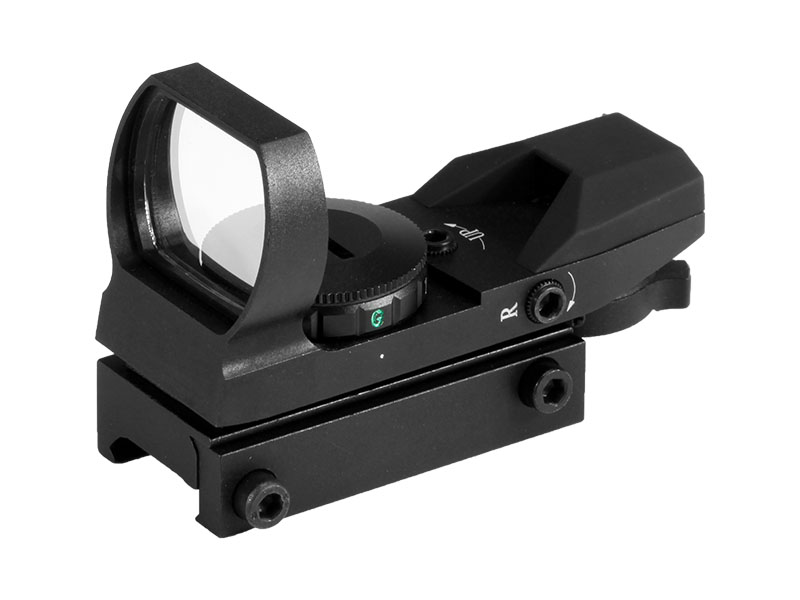 4 Reticle Red Green Dot 1X22X33 Scope