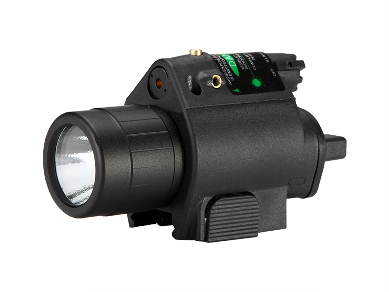 M6 Tactical Flashlight With Green Laser