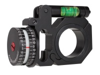 30/25.4mm Ring Mount With Rail Bubble Level Angle Indicator
