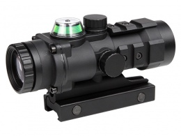 Gp01 3x32mm  Fiber Source Green Illuminated Scope