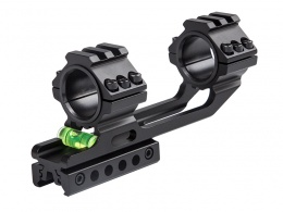 25.4/30MM One Piece Ring Mount With One Rail & Bubble Level