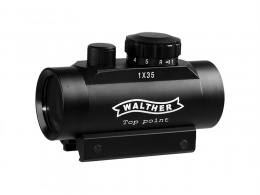 WALTHER 1X35 Red Dot Sight With 20MM Ring Mount