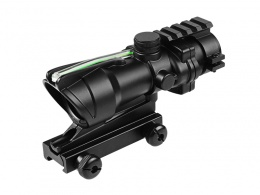4X32 Fiber Source Green Illuminated Scope