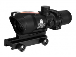 ACOG Style 4X32 Fiber Source Red Illuminated Scope