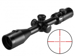 3-9X42 IRG Riflescope Integrated Red Laser MAR-007
