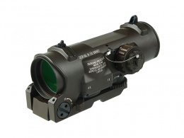 1x-4x Fixed Dual Purpose Scope Red illuminated Red Dot Sight MAR-142
