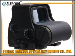 556B holographic rifle scope black side switch